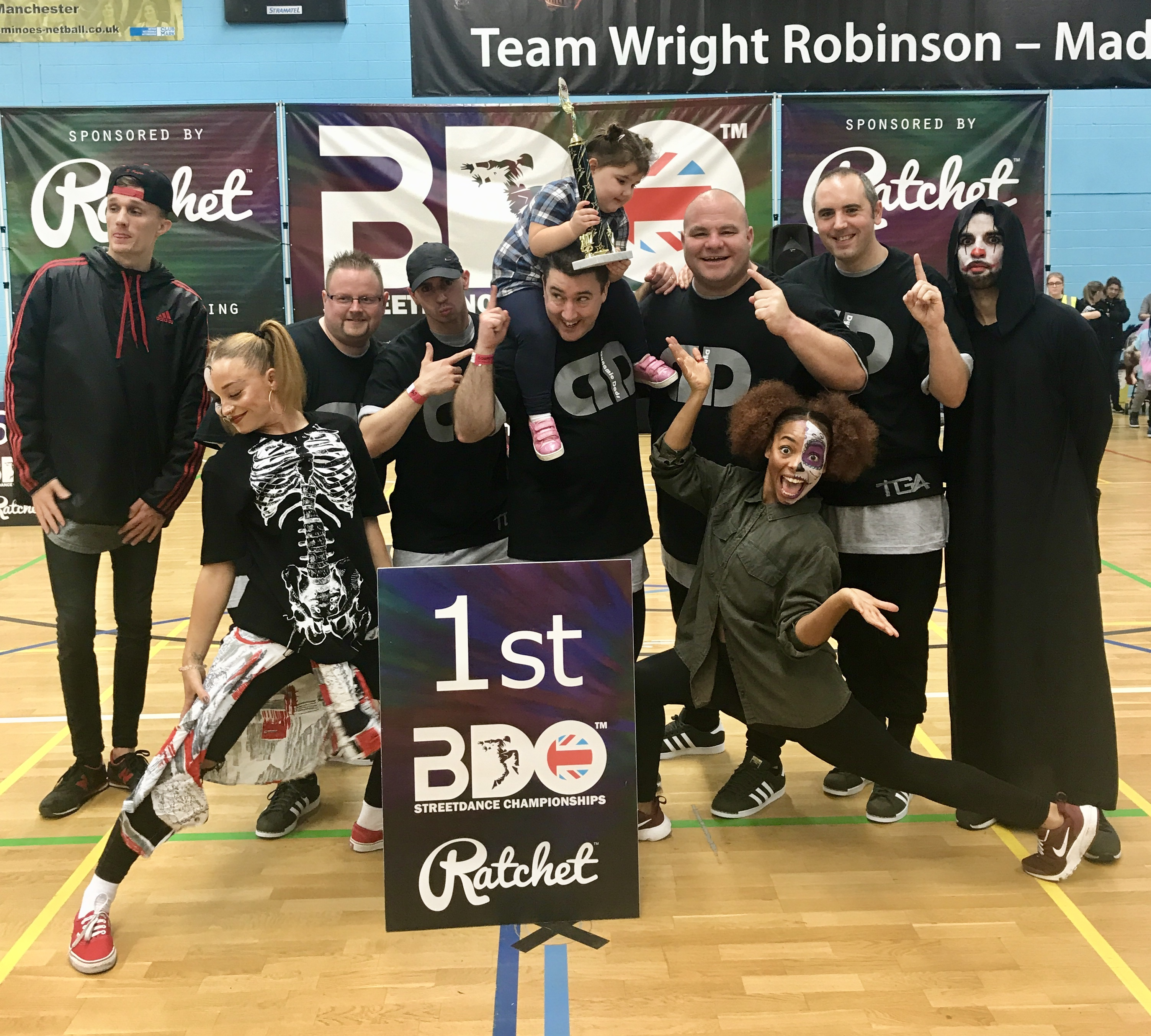 Dancing Dads Qualify for British Championships